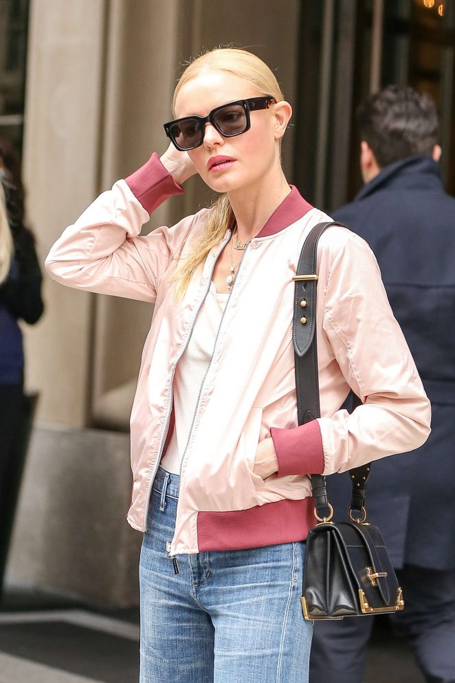 Kate Bosworth on the set of 'Art of More' in Montreal