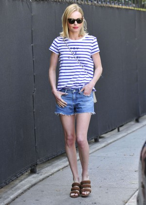 Kate Bosworth in Jeans Shorts -02