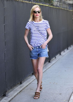 Kate Bosworth in Jeans Shorts -05