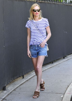 Kate Bosworth in Jeans Shorts -06