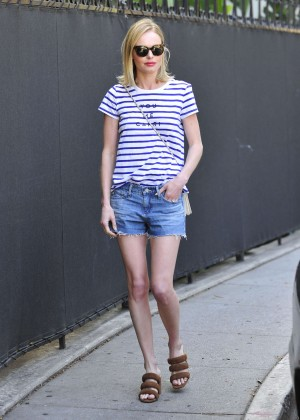 Kate Bosworth in Jeans Shorts -08