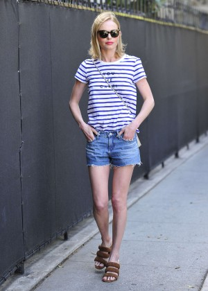 Kate Bosworth in Jeans Shorts -12