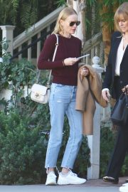 Kate Bosworth - Out for a business lunch in Los Feliz