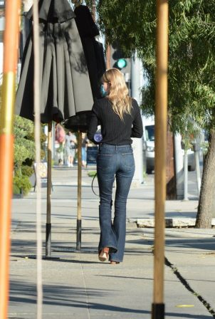 Kate Bosworth - Seen at the salon in Los Angeles