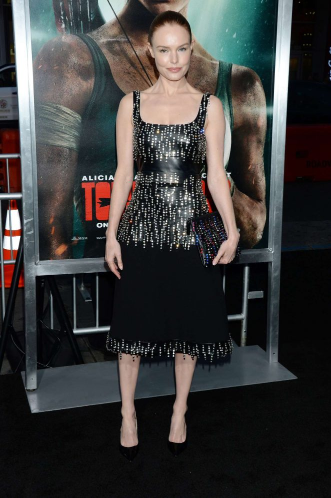 Kate Bosworth - 'Tomb Raider' Premiere in Hollywood