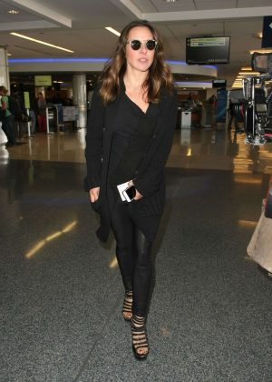 Kate Del Castillo at LAX Airport in Los Angeles