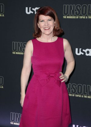 Kate Flannery - 'Unsolved The Murders of Tupac and The Notorious B.I.G.' Premiere in LA