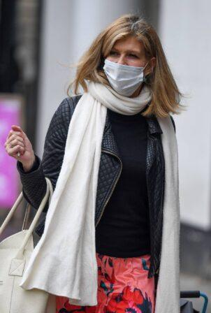 Kate Garraway - arriving at Global Studios in London
