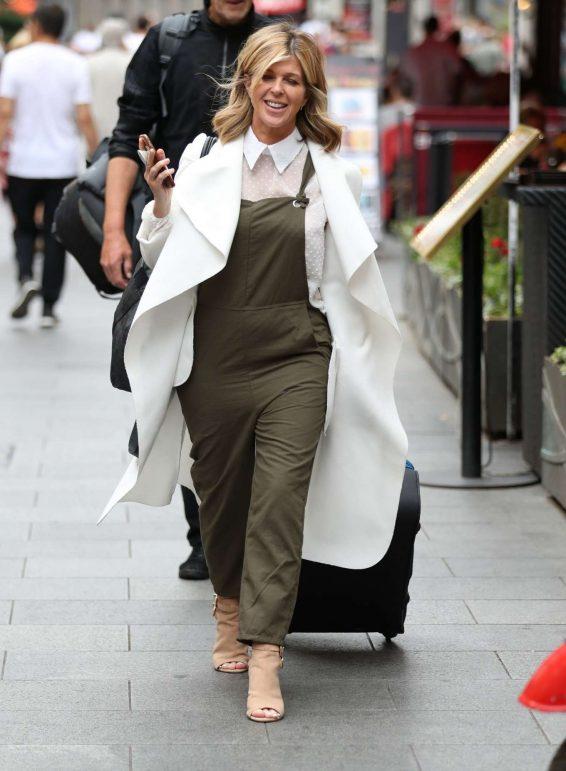 Kate Garraway - Arriving at Smooth Radio Studios in London