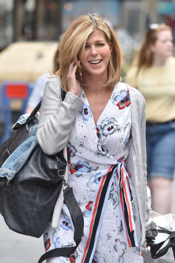 Kate Garraway - Arriving for her Smooth Radio show in London
