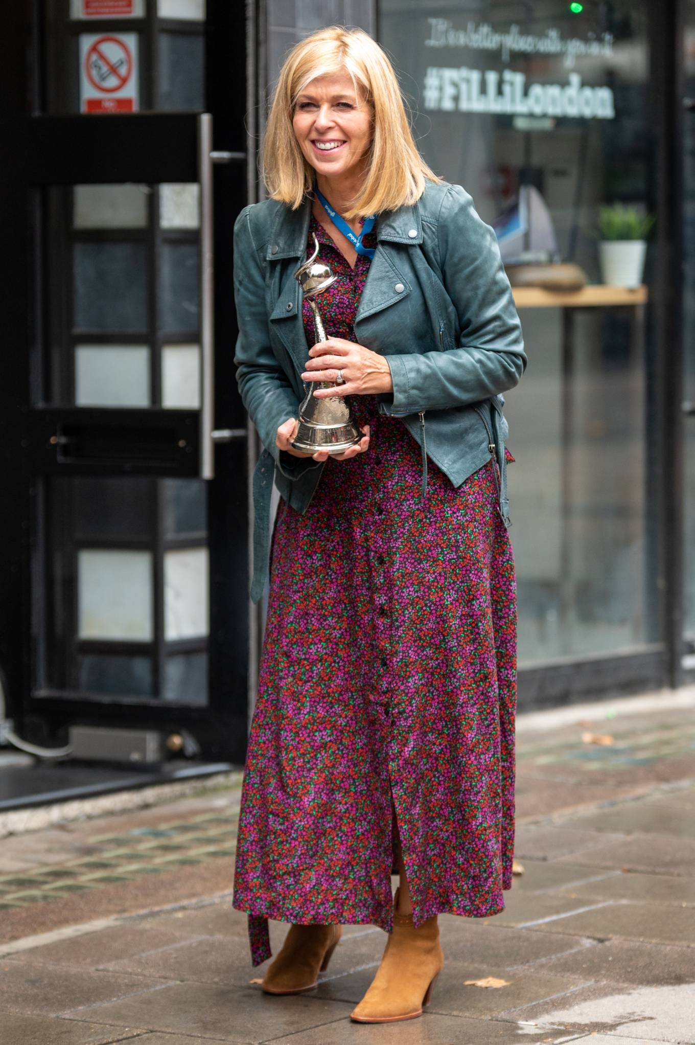 Kate Garraway - Seen arriving at Global Studios in London