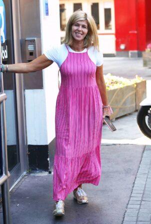 Kate Garraway - Seen arriving at Global Studios