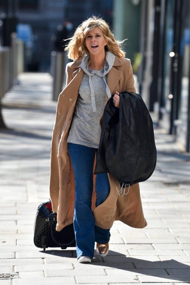 Kate Garraway - Seen at the Global studios in London