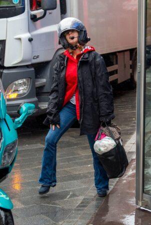 Kate Garraway - Seen outside the Global Radio studios in London