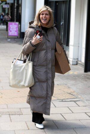 Kate Garraway - Spotted at Global Studios in London