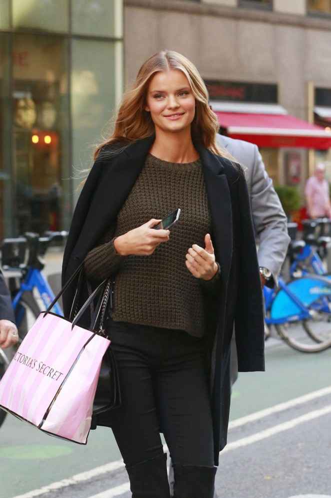 Kate Grigorieva out in NY