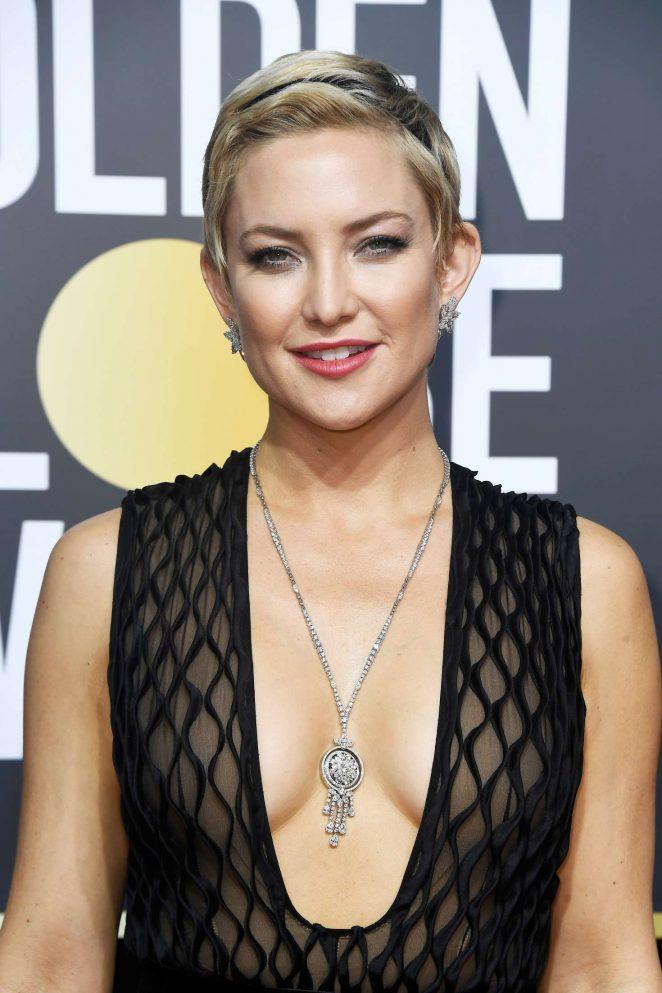 Kate Hudson – 2018 Golden Globe Awards in Beverly Hills