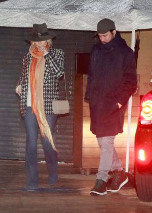 Kate Hudson and Danny Fujikawa at Nobu restaurant in Malibu