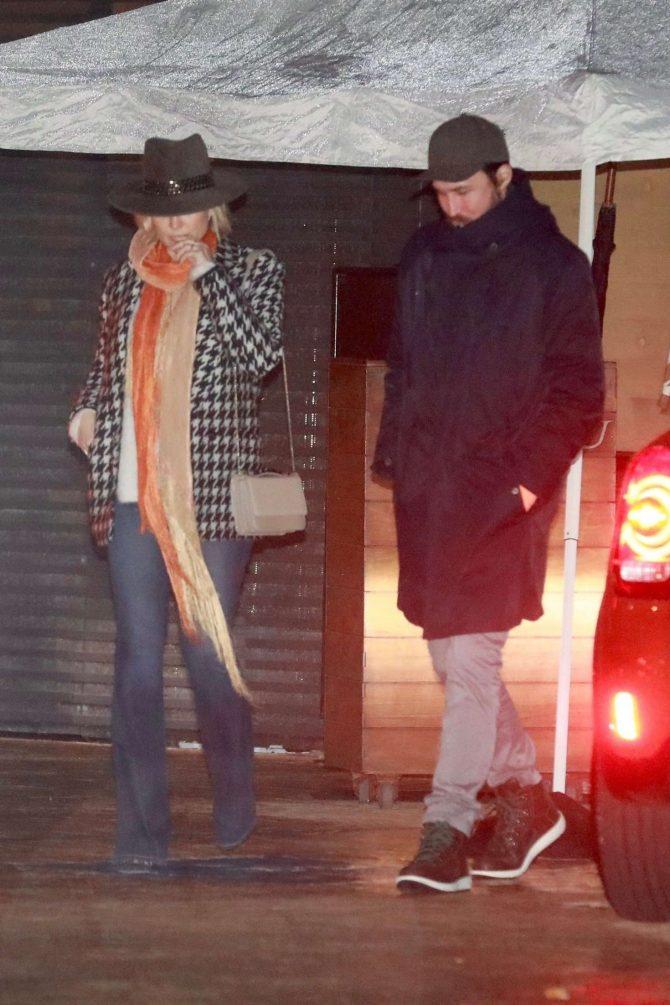 Kate Hudson and Danny Fujikawa at Nobu restaurant in Malibu