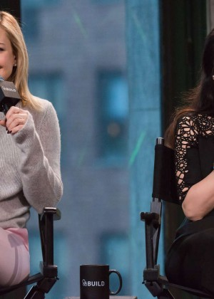 Kate Hudson and Lucy Liu - AOL's BUILD Speaker Series in New York