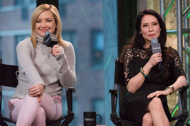 Kate Hudson and Lucy Liu – AOL's BUILD Speaker Series in New York