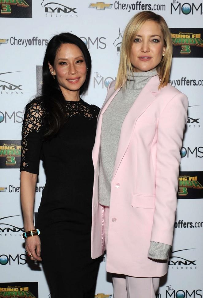 Kate Hudson and Lucy Liu – 'Kung Fu Panda 3' Screening in New York