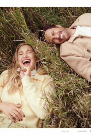 Kate Hudson and Oliver Hudson - Health Magazine (December 2020)
