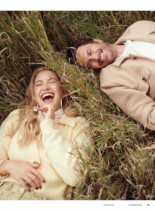 Kate Hudson and Oliver Hudson - Health Magazine (December 2020)