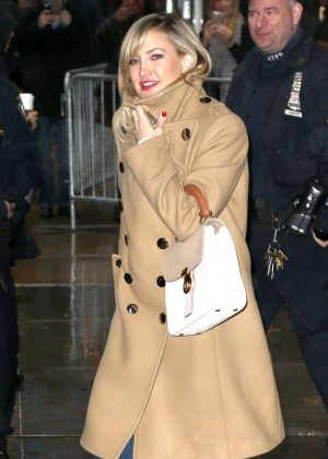 Kate Hudson - Arrives at Good Morning America in New York