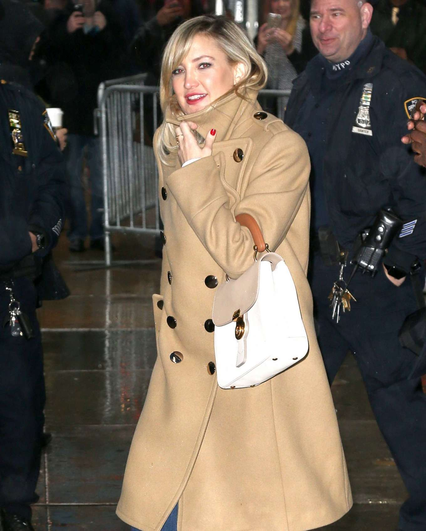 Kate Hudson - Arrives at Good Morning America in New York