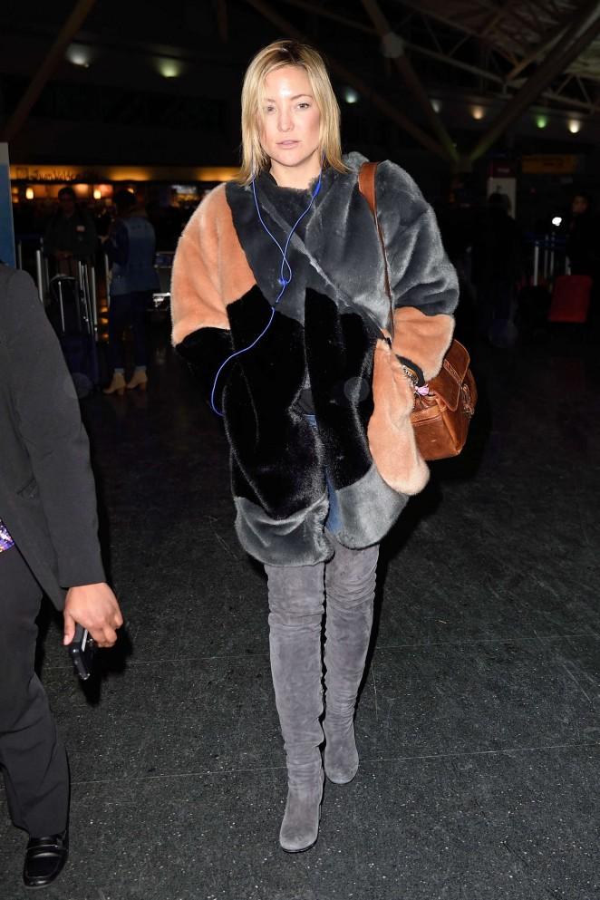 Kate Hudson: Arrives at JFK Airport -16