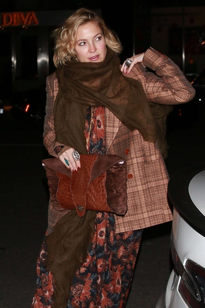 Kate Hudson – Arrives at Takashi Murakami's GYATEI Exhibition in Beverly Hills