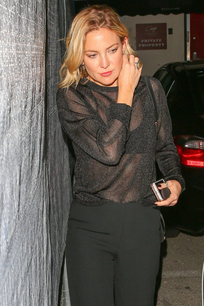 Kate Hudson at Craig's Restaurant in West Hollywood