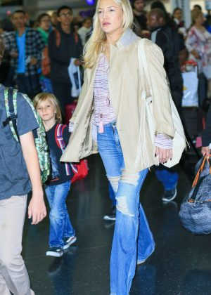 Kate Hudson at JFK Airport in New York City