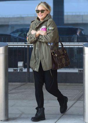 Kate Hudson at JFK airport in New York