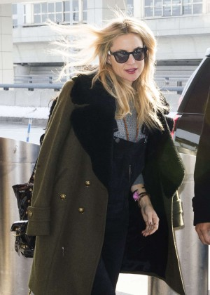 Kate Hudson at JFK airport in NYC