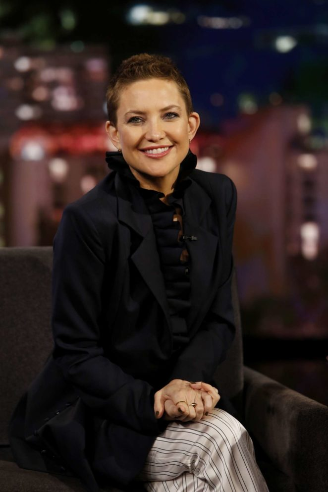 Kate Hudson at Jimmy Kimmel Live! in Los Angeles