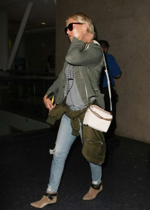 Kate Hudson at LAX airport in Los Angeles