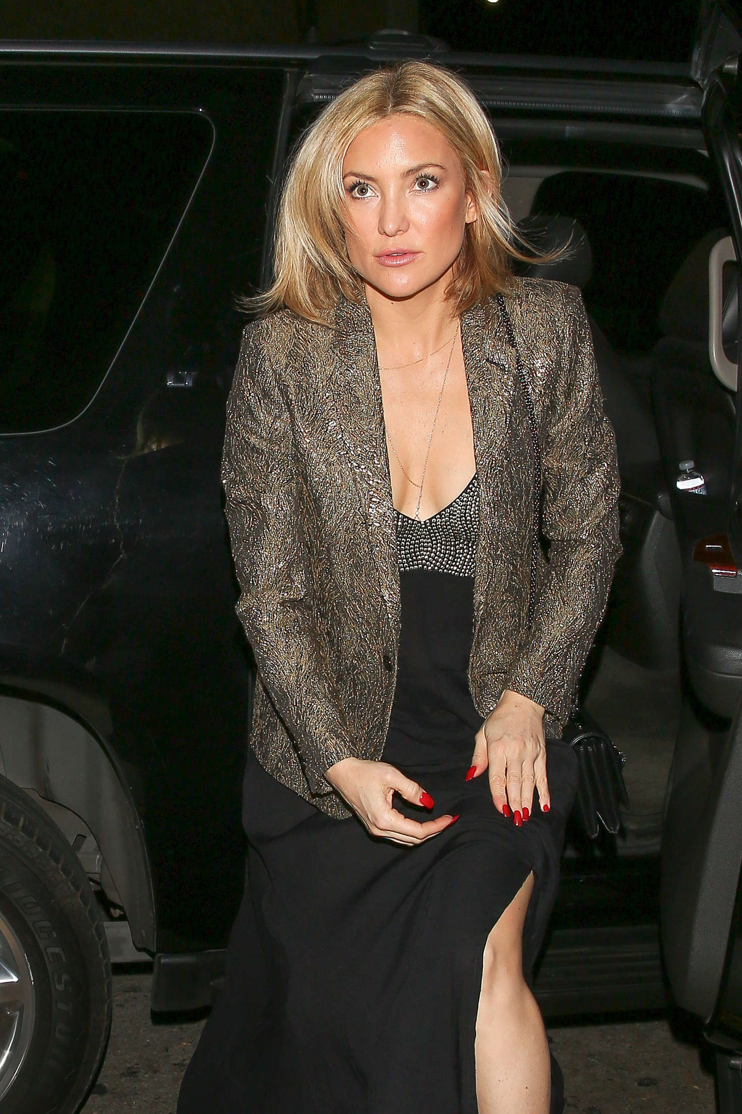 Kate Hudson at Reese Witherspoon's 40th Birthday Party in Los Angeles