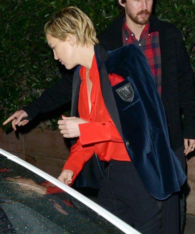 Kate Hudson – Celebrates Valentine's Day at Giorgio Baldi in Santa Monica