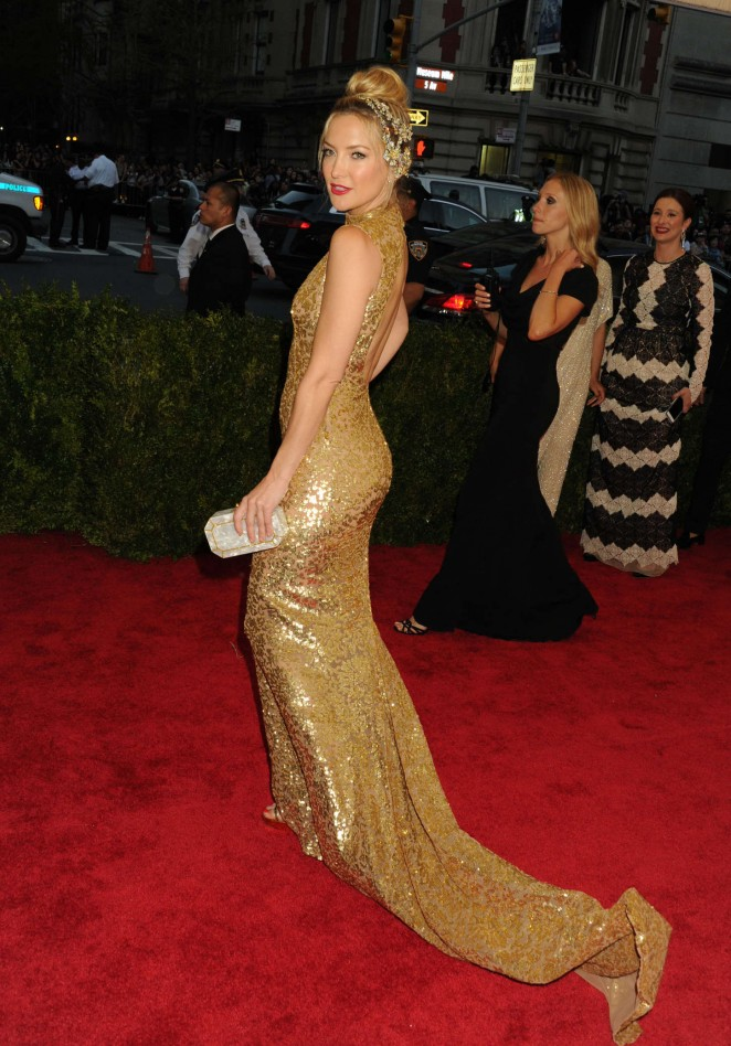 Kate Hudson - 2015 Costume Institute Gala in NYC