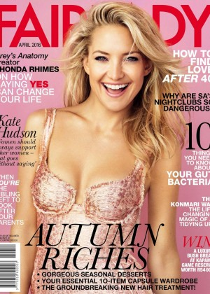 Kate Hudson - Fairlady Magazine (April 2016)
