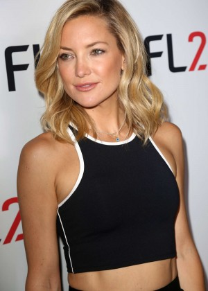 Kate Hudson - FL2 Mens Active Wear Collection Launch in NYC
