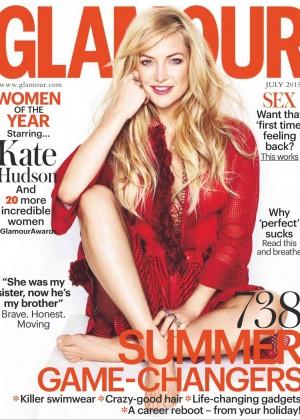 Kate Hudson - Glamour UK Magazine (July 2015)