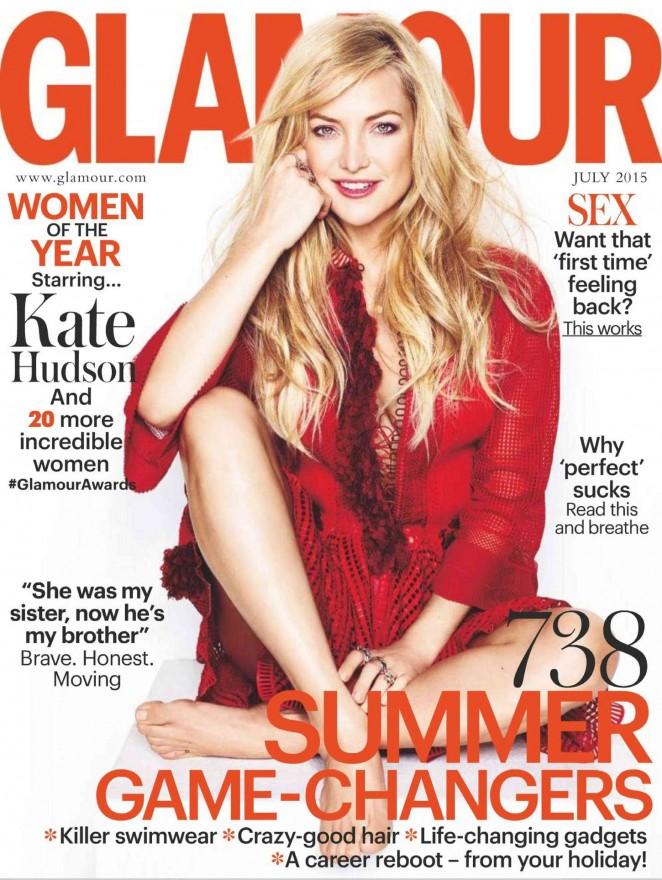Kate Hudson – Glamour UK Magazine (July 2015)