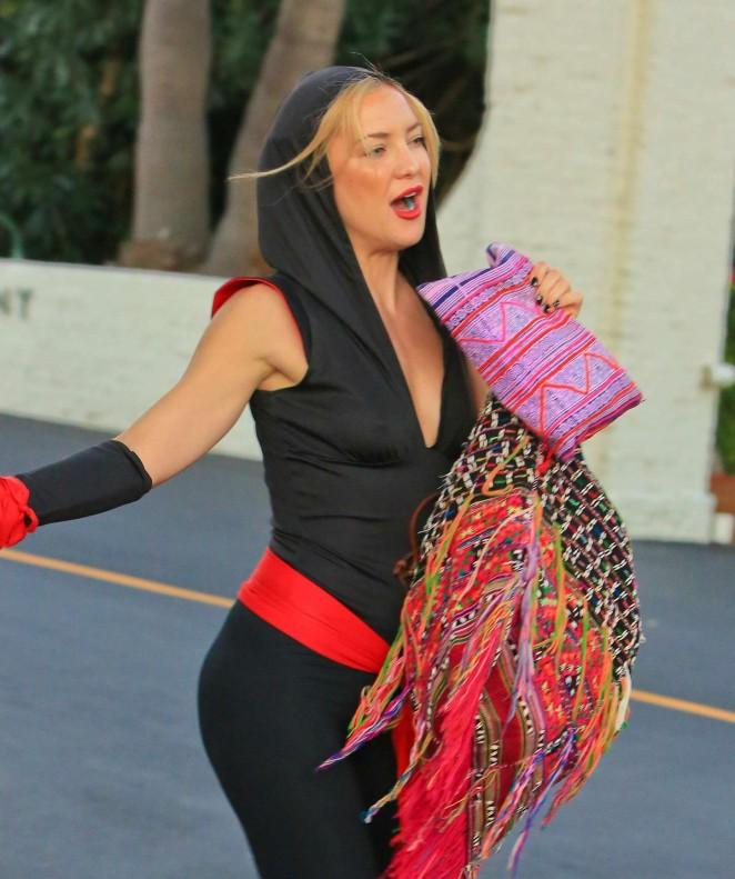 Kate Hudson - Halloween Party in Malibu