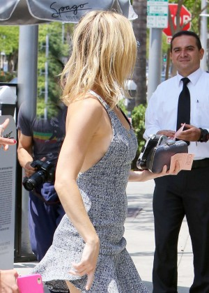 Kate Hudson in Short Dress out in Beverly Hills