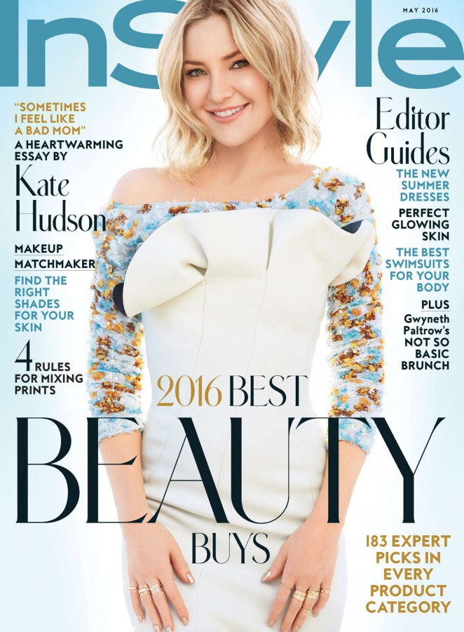 Kate Hudson – Instyle Cover 2016 -01