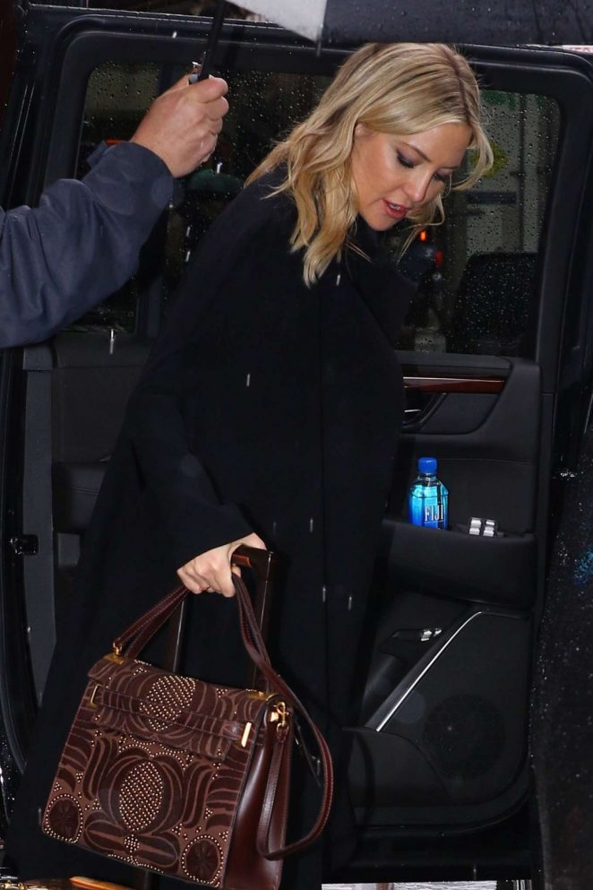 Kate Hudson Leaves Greenwich Hotel in New York