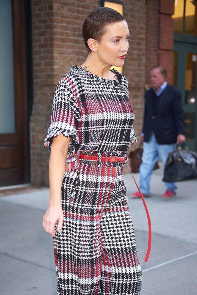 Kate Hudson - Leaves her hotel in New York City